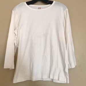 Ann Klein Sport Long Sleeve Shirt Large L